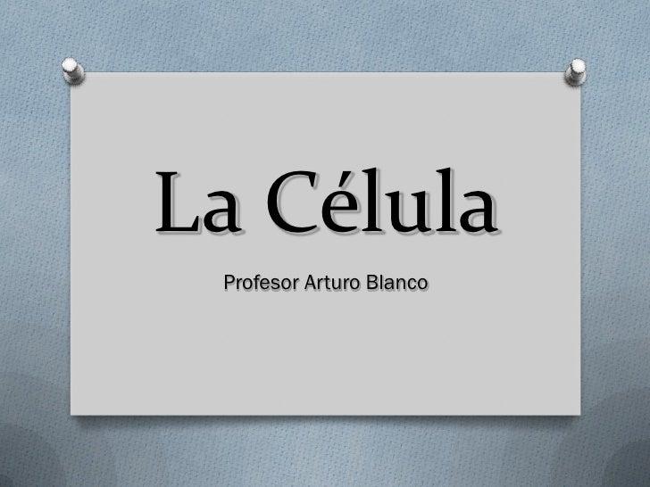 La Célula Profesor Arturo Blanco