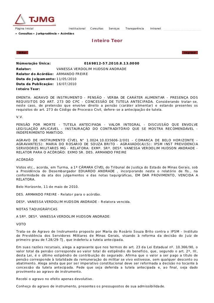 Página Inicial                     Institucional   Consultas   Serviços   Transparência   Intranet» Consultas » Jurisprudê...