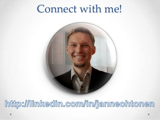 Connect with me!
