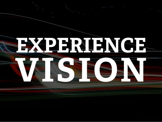 EXPERIENCEVISION