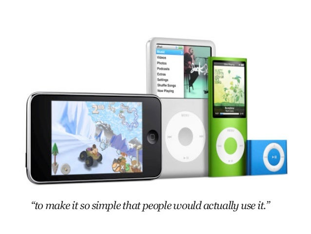 """""""to make it so simple that people would actually use it."""""""