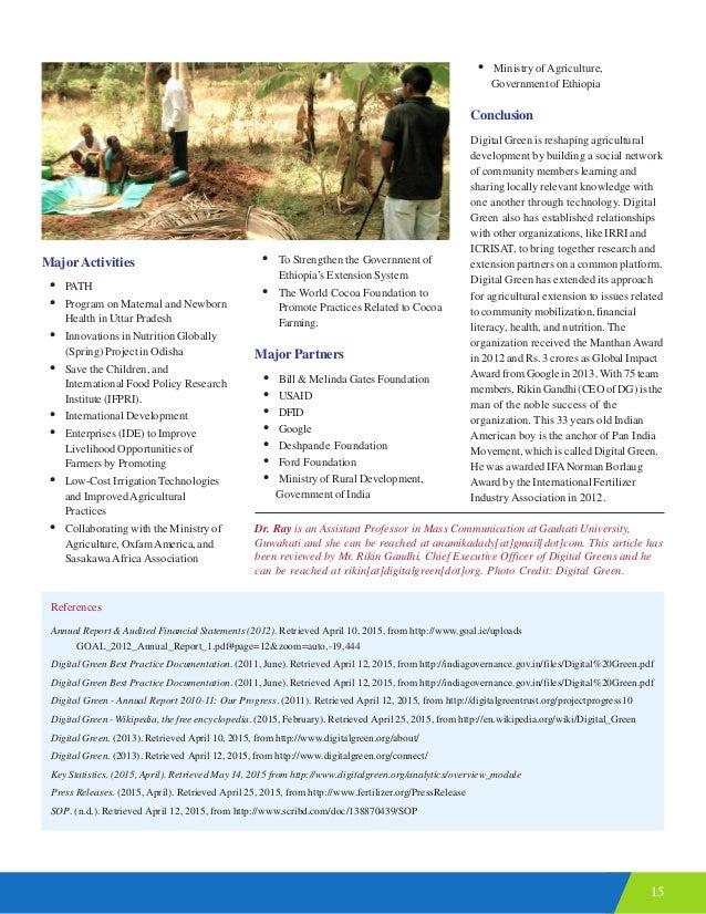 15 MajorActivities • PATH • Program on Maternal and Newborn Health in Uttar Pradesh • Innovations in Nutrition Globally (S...