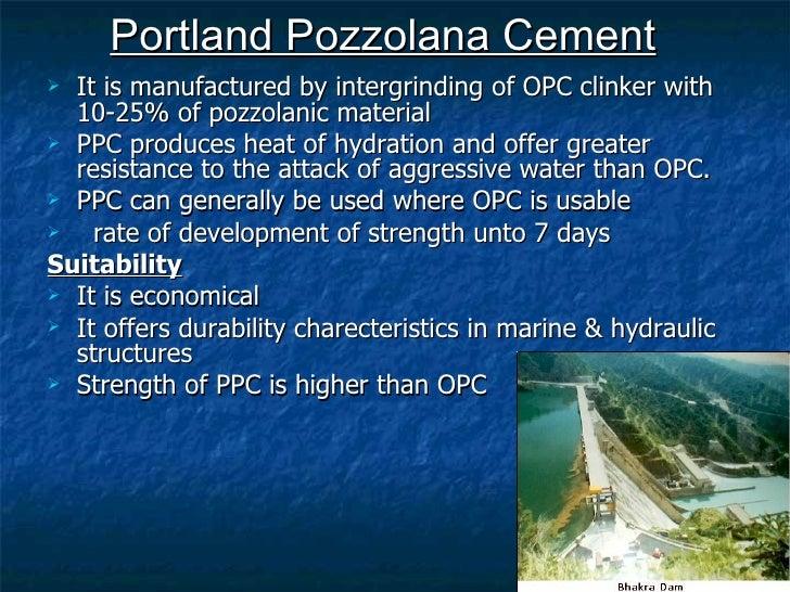 Portland Pozzolana Cement : Cement by nikhil pakwanne