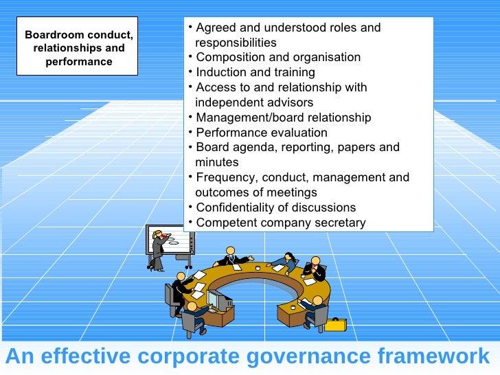 Best Practice Corporate Board Governance