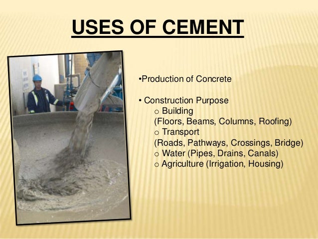 Uses Of Natural Cement
