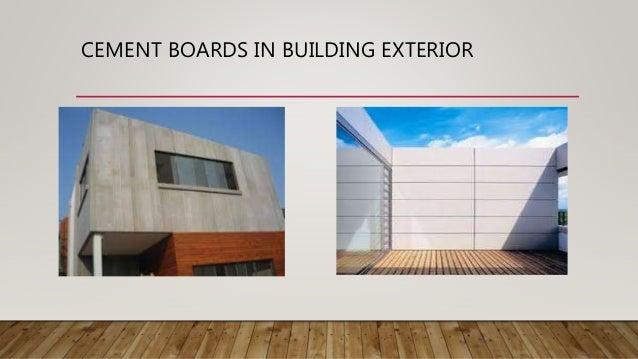 Cement Boards Or Fiber Cement