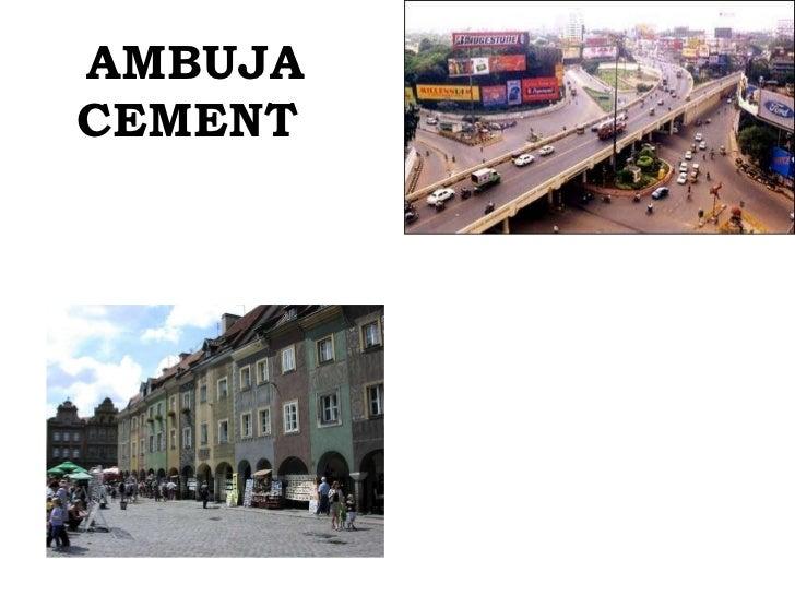 Cement industry Slide 2