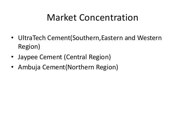Ultratech Cement Market : Cement industry