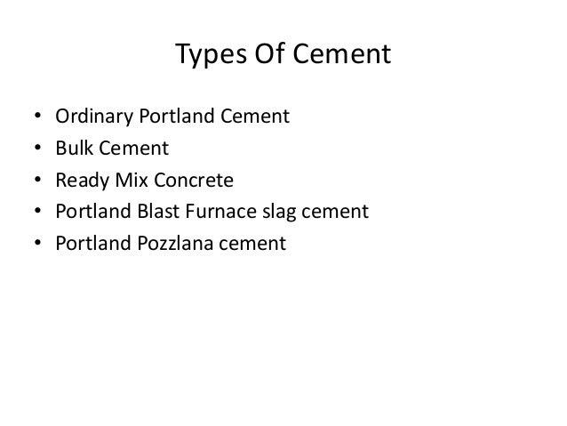 Portland Blast Furnace Cement : Cement industry