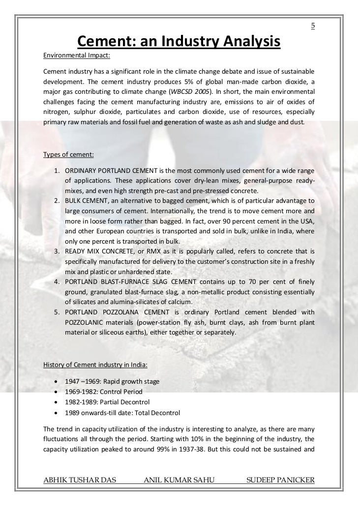 fundamental analysis of cement industry The fundamental requirement for development of reinforcing bars is that a reinforcing bar must be embedded in concrete a sufficient distance on each side of the critical section to develop the peak tension or compression force in the bar at the section.