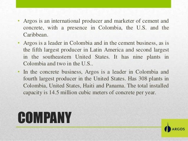 United States Cement Plants : Cementos argos