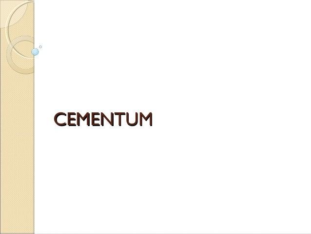 CEMENTUMCEMENTUM