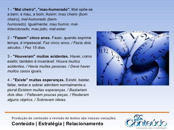 Os cem erros mais comuns da língua portuguesa Slide 2