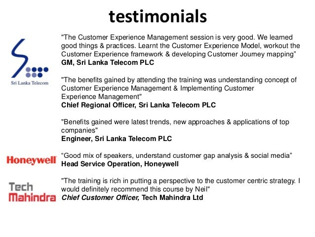 Customer Experience Management Masterclass Event Report