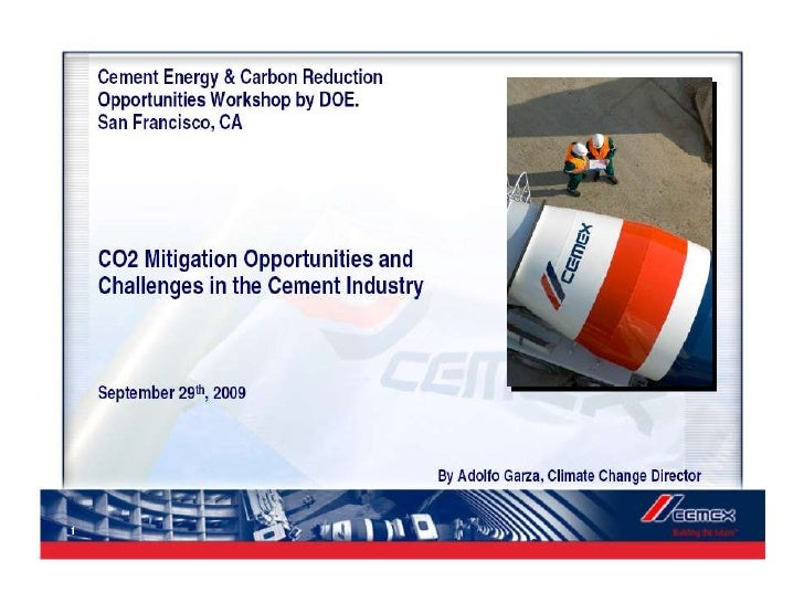 cemex external environment Free essay: what benefits have cemex and the other global competitors in  cement derived from globalization more broadly, how can.