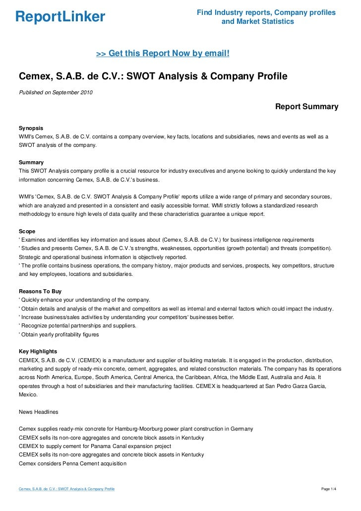 swot analysis on publix supermarkets Synopsiswmi's publix super markets, inc contains a company overview, key  facts, locations and subsidiaries, news and events as well as a.