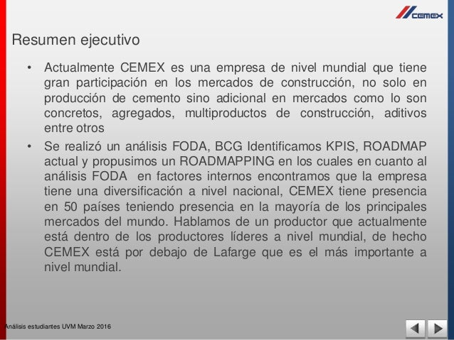 cemex bcg Essays - largest database of quality sample essays and research papers on does the bcg matrix apply to cemex.