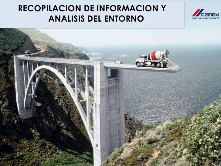 RECOPILACION DE INFORMACION Y      ANALISIS DEL ENTORNO