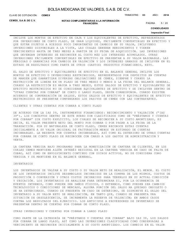 Cemex situación financiera - 웹