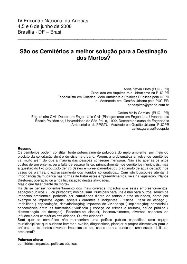 IV Encontro Nacional da Anppas4,5 e 6 de junho de 2008Brasília - DF – Brasil______________________________________________...