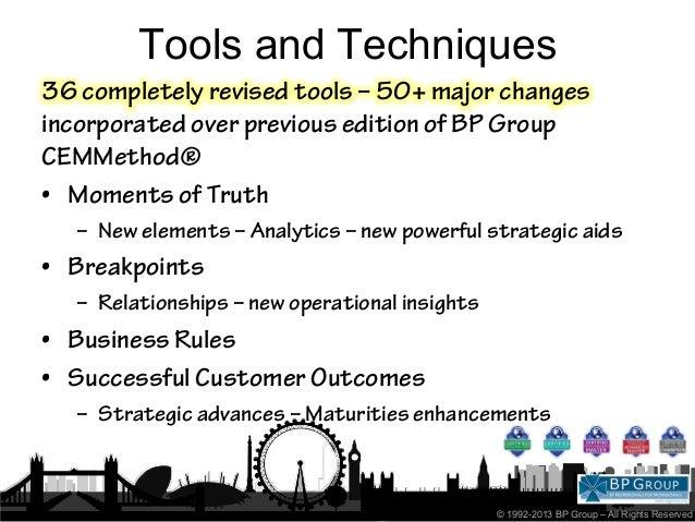 CEMMethod advanced principles 2013 Slide 2