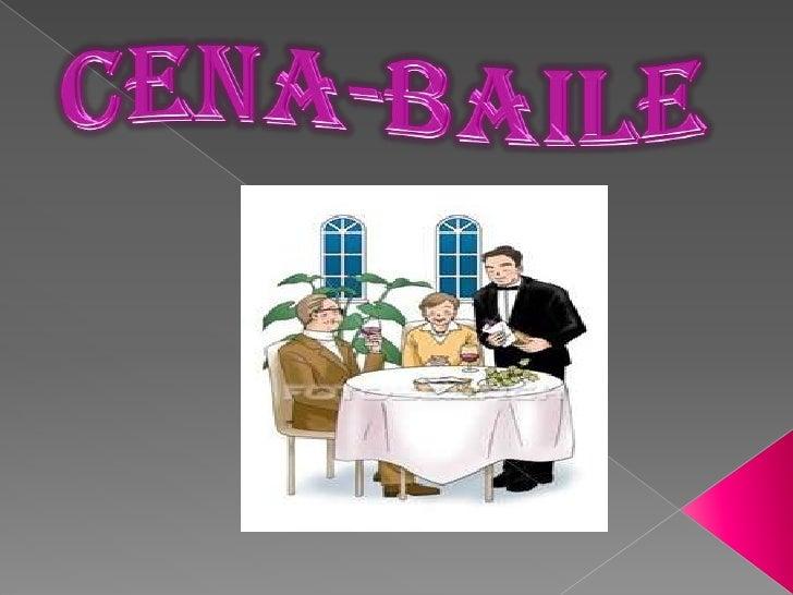 cena Inglés baile