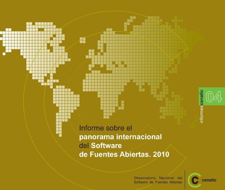 Cenatic informe internacional