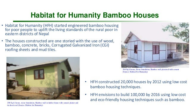 Status And Opportunities Of Promoting Bamboo And Hollow