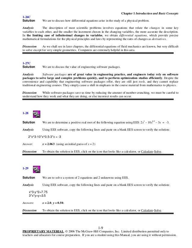 Cengel cimbala solutionschap01 9 fandeluxe Images