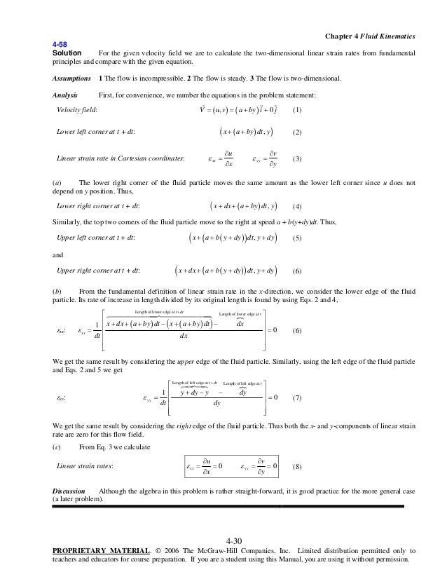 cengel fluid mechanics solutions pdf chapter 2
