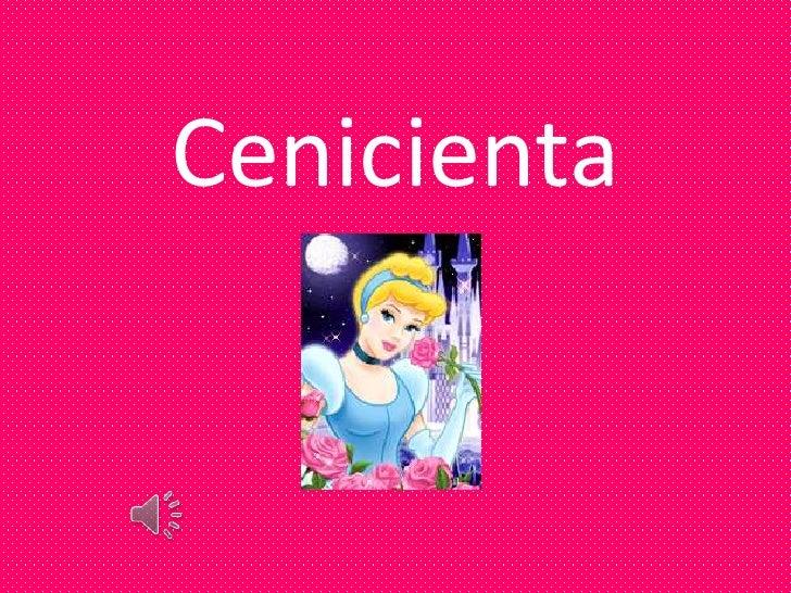 Cenicienta<br />