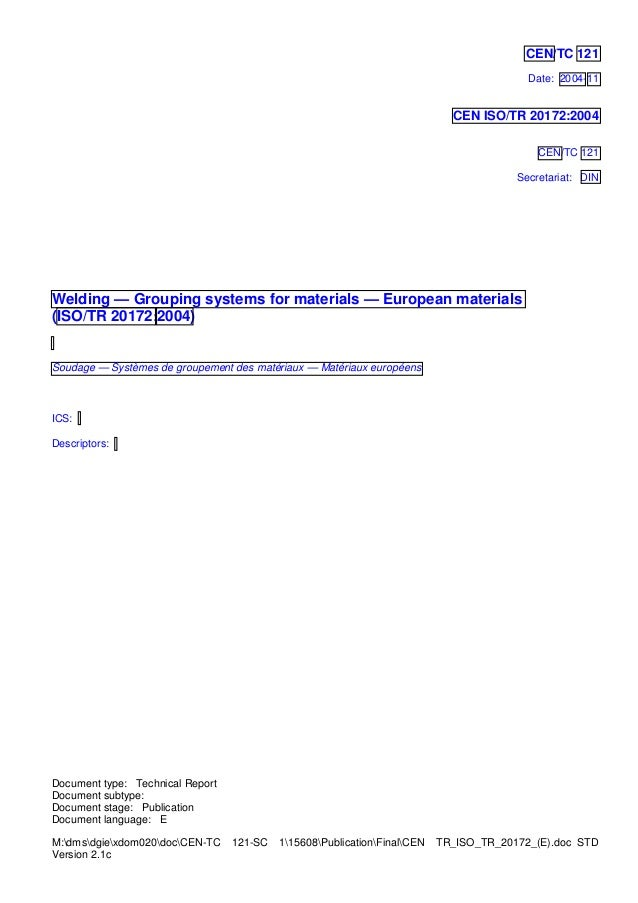 Document type: Technical Report Document subtype: Document stage:  Publication Document language: E ...