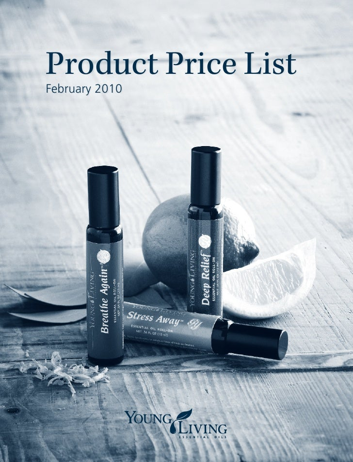 Product Price List February 2010