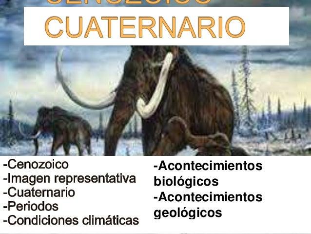 -Acontecimientos biológicos -Acontecimientos geológicos -Imágenes