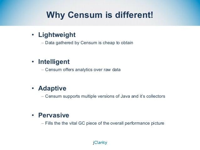 Censum - Garbage Collection Log Analyser Slide 3