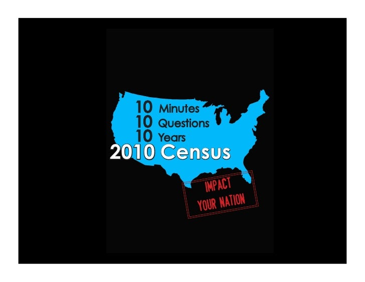 Get the Dirt on the 2010 Census