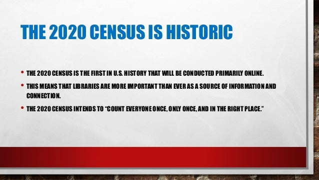CENSUS 101: WHAT YOU NEED TO KNOW https://www.census.gov/content/dam/Census/library/factsheets/2019/dec/census101.pdf