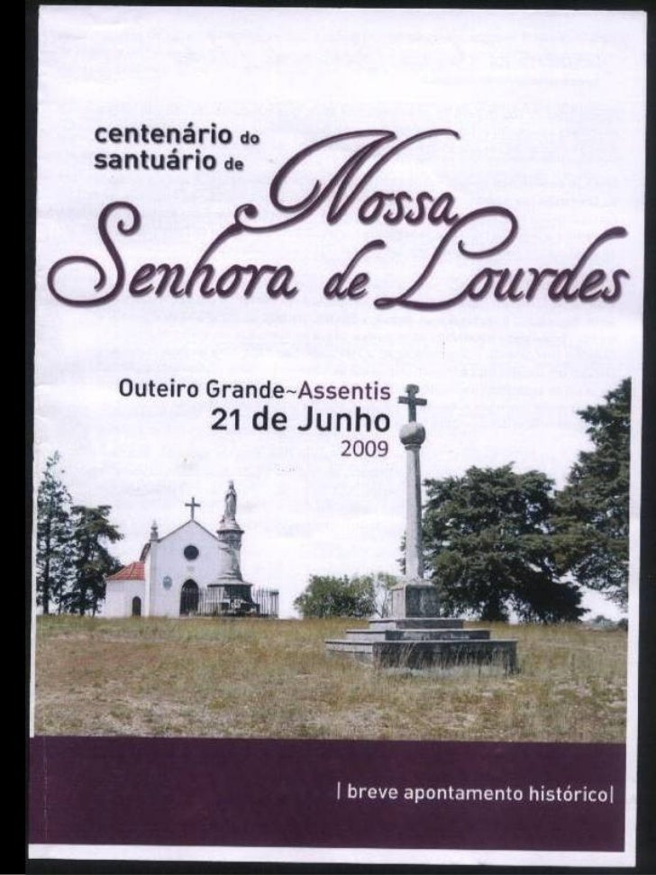 Centenário de Nss. Sª de Lourdes
