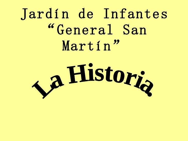 Jard n de infantes general san mart n for Jardin de infantes