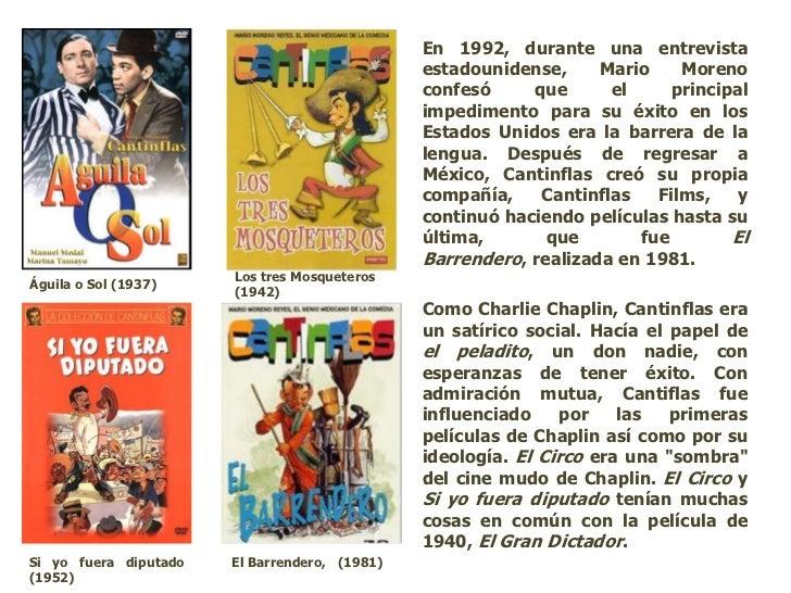 ... 15. En 1992, durante una entrevista estadounidense, Mario Moreno ...