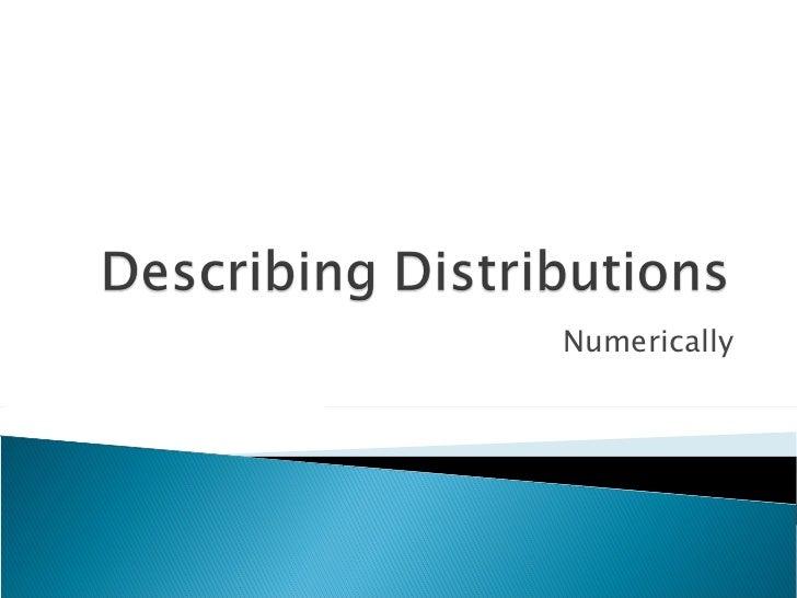 Numerically