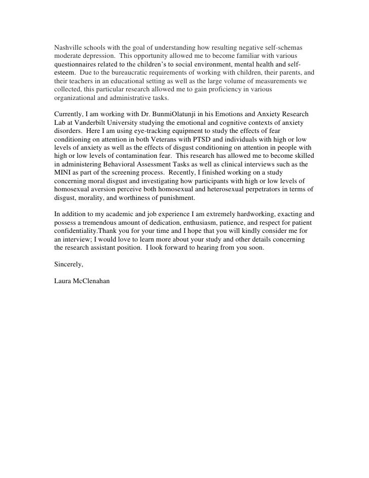 Center For Research On Health Disparities Cover Letter .