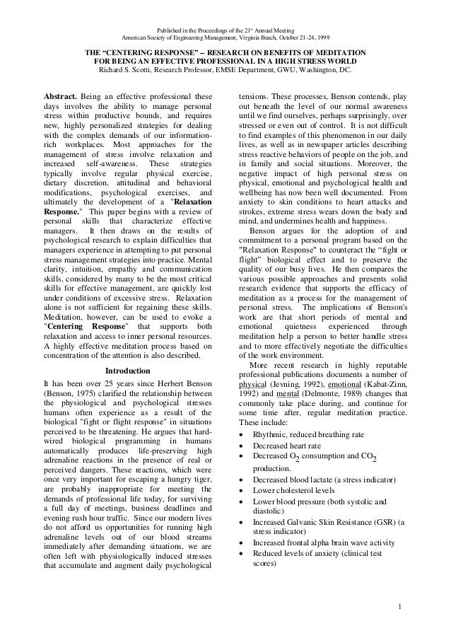 Published in the Proceedings of the 21st Annual Meeting                       American Society of Engineering Management, ...