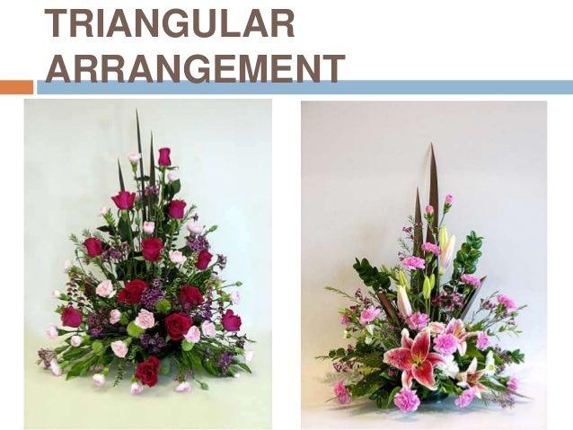 Table centerpiece and floral arrangement