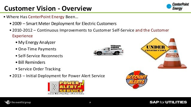 Center Point Power Meter : Center point energy s crm business case customer vision