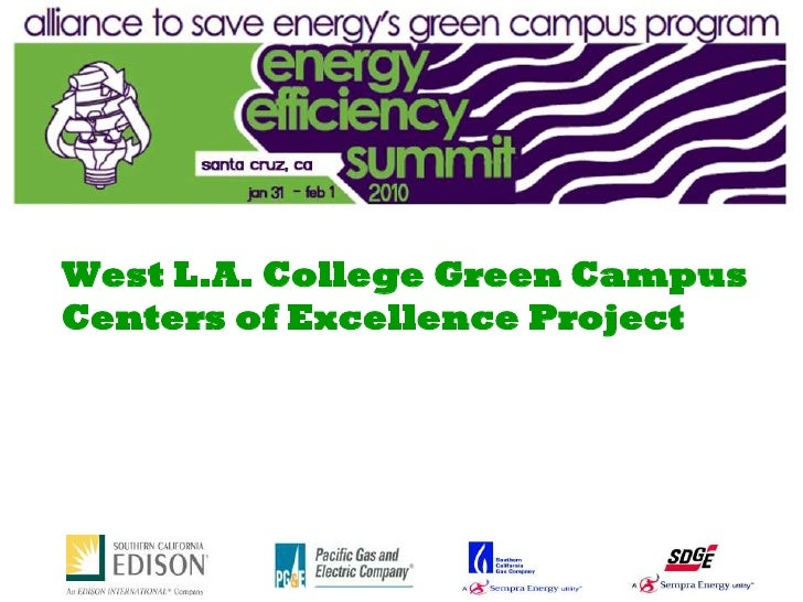 West L.A. College Green Campus Centers of Excellence Project