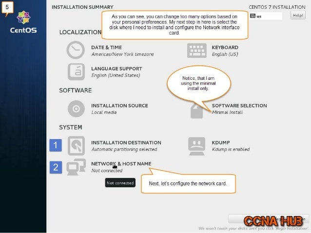 INSTALLATION SUMMARY  As you can see.  you can change too many options based on your personal preferences.  My next step i...