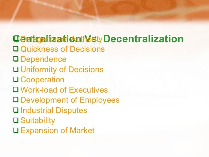 industrial relations centralised vs decentralised This article analyses the recent move from highly centralised and regulated australian industrial relations processes towards a decentralised and deregulated system which emphasises.