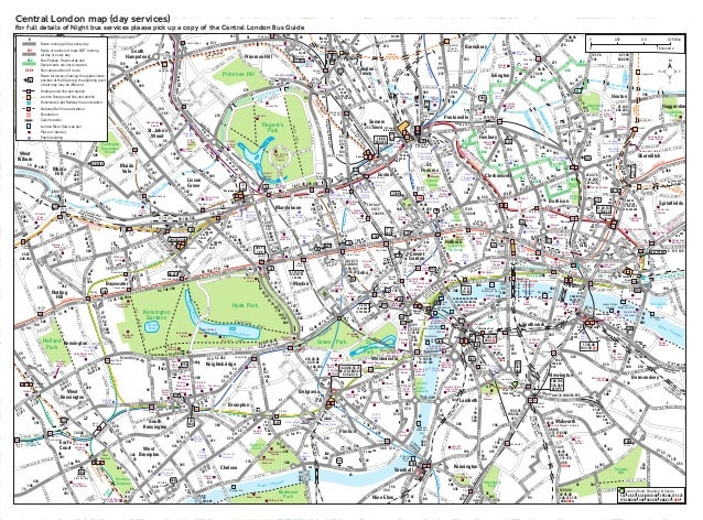 Central londonbusmap