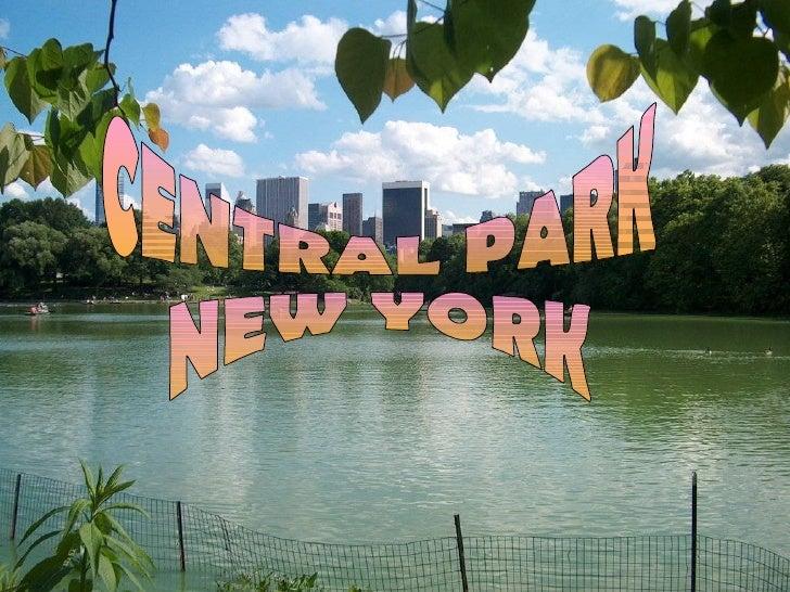 Central Park est un grand parc urbain public de 341 haextension située dans le District métropolitain deManhattan, à New Y...